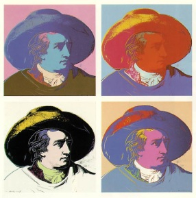 Goethe, d'Andy Warhol (1981)